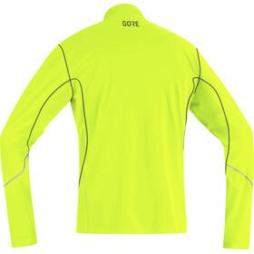 GORE WEAR R3 Thermo Long Sleeve Zip Shirt Men neon yellow/black
